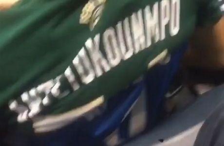 Έβγαλε τη φανέλα του Westbrook για να φορέσει του Αντετοκούνμπο