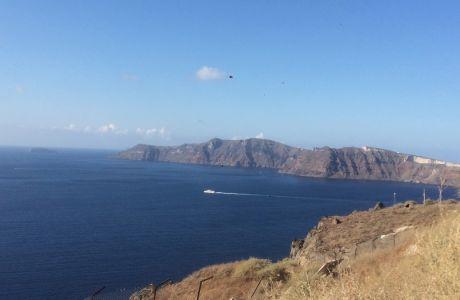 Εντυπωσιακά πλάνα από το Santorini Experience 2019