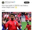 Απίστευτη γκάφα της UEFA με Ντιέγκο Κόστα
