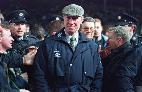 Ο προπονητής της εθνικής Ιρλανδίας, Τζακ Τσάρλτον | Τετάρτη 15 Φεβρουαρίου 1995