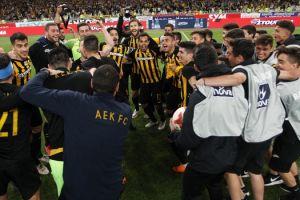 Η πρώτη ελληνική ομάδα που έδωσε συγχαρητήρια στην ΑΕΚ