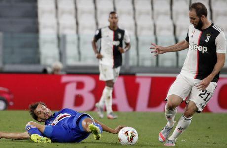 Μια ντουζίνα παίκτες, συμπεριλαμβανομένου του Γκονσάλο Ιγκουαΐν, δεν βρίσκονται στα πλάνα του Αντρέα Πίρλο για την Γιουβέντους του 2020-2021. (AP Photo/Antonio Calanni)