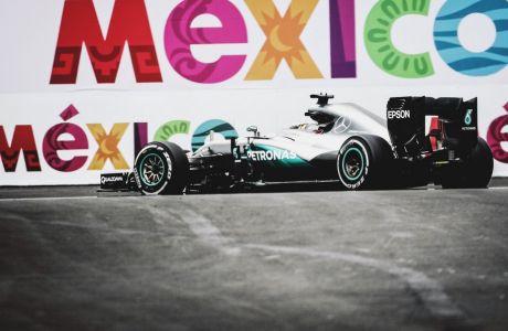 GP Μεξικού (QP): Κυριαρχία Hamilton!