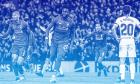 Ο Ντίβοκ Ορίγκι της Λίβερπουλ πανηγυρίζει το γκολ που σημείωσε κόντρα στην Μπαρτσελόνα, στα ημιτελικά του Champions League 2018-2019, 'Άνφιλντ', Λίβερπουλ