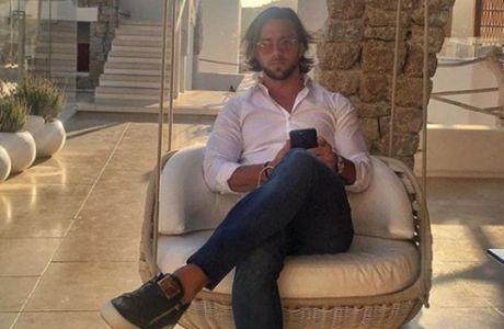 Ο Ρινάλντι συνεχίζει τις... διακοπές στην Ιταλία