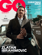 Το εξώφυλλο του GQ Italia με τον Ζλάταν Ιμπραχίμοβιτς (Δεκέμβριος 2019)