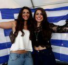 H Kαλομοίρα, ο Εθνικός ύμνος και το σούβλισμα αρνιών (PHOTOS)