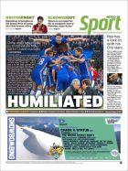 Οι εφημερίδες στο Νησί ξεφτιλίζουν τον Μουρίνιο