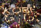 Κεριά που σχηματίζουν τα ονόματα 'Κόμπε' και 'Τζίτζι' στο μνημείο του Κόμπε Μπράιαντ δίπλα από το 'Στέιπλς Σέντερ', Λος Άντζελες, Κυριακή 26 Ιανουαρίου 2020