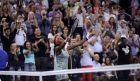 H Coco Gauf έγινε η μικρότερη σε ηλικία, τενίστρια που πέρασε το δεύτερο γύρο του US Open, μετά την Κουρνίκοβα (AP Photo/Charles Krupa)