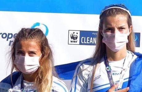 Στην κορυφή της Ευρώπης η ΟΠΑΠ Champion Ευαγγελία Αναστασιάδου και η Ευαγγελία Φράγκου – Κατέκτησαν το χρυσό μετάλλιο στο διπλό σκιφ στο Ευρωπαϊκό Πρωτάθλημα Κωπηλασίας