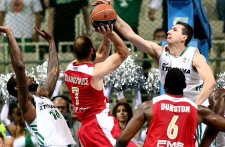 Παναθηναϊκός - Ολυμπιακός 64-69