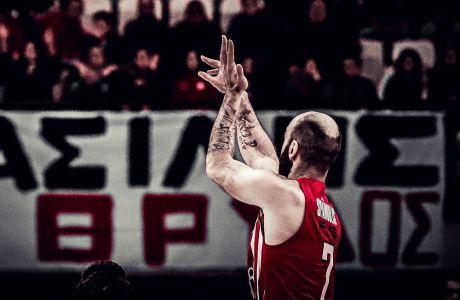 Μ' ένα τέτοιο σουτ ο Βασίλης Σπανούλης έγινε ο πρώτος σκόρερ όλων των εποχών στην Euroleague