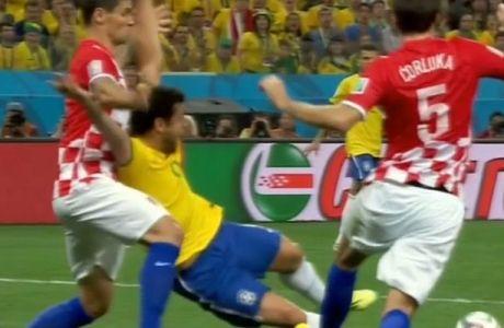 Από ανύπαρκτο πέναλτι το 2-1 για τη Βραζιλία (VIDEOS)