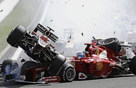 Στην πίστα που προκάλεσε πανικό το 2012, στερώντας από τον Φερνάντο Αλόνσο τον τίτλο, ο Ρομάν Γκροζάν έμαθε πως χάνει τη θέση του στη Haas το 2021.