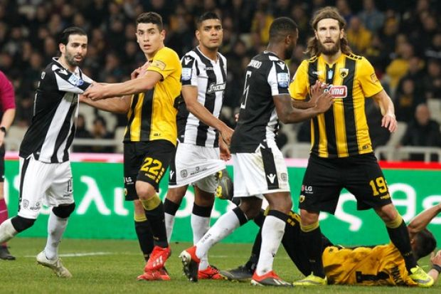 ΑΕΚ-ΠΑΟΚ: Το γκολ Βαρέλα - Μαουρίσιο δεν κρίνει ξανά τίτλο