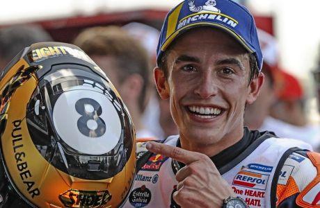 O Mαρκ Μάρκεθ έκανε οκτώ τους συνολικούς τίτλους και 6 αυτούς στο MotoGP.