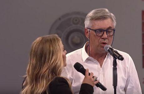 Τραγούδησε μαζί με την Anastacia ο Αντσελότι!