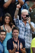 Miss Universo Iris Mittenaere con Matt Pokora agli open di FranciaMiss Universe Iris Mittenaere and French singer Matt Pokora attend the French Tennis Open at Roland Garros on May 30, 2017 in Paris, France. Photo by Laurent Zabulon/ABACAPRESS.COM594912French Open - Miss Universe Iris Mittenaere And Matt Pokora AttendingLaPresse  -- Only Italy