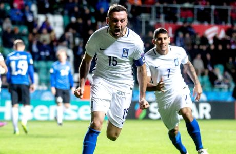 Τα γκολ της Εθνικής με την Εσθονία
