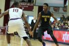 Montverde Academy's Rowan Barrett#5 in action against Roman Catholic during a high school basketball game in the Hoophall Classic at Springfield College on Saturday, January 16, 2016 in Springfield, MA.  (AP Photo/Gregory Payan)