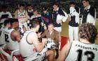 Ο Ντούσαν Ίβκοβιτς δίνει οδηγίες στους παίκτες του ΠΑΟΚ