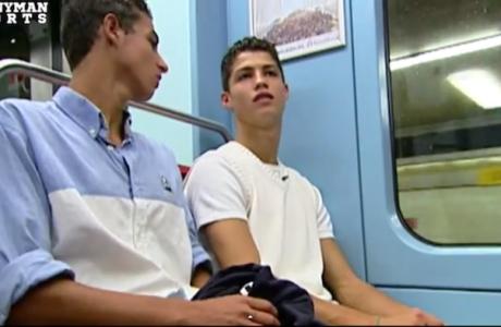 Ο 16χρονος Ρονάλντο κάνει βόλτες με το μετρό (VIDEO)