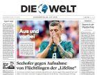 Τα γερμανικά πρωτοσέλιδα... κρέμασαν στα μανταλάκια την Nationalmannschaft