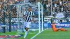 Ο Λέο Μάτος του ΠΑΟΚ πανηγυρίζει το γκολ που σημείωσε στην αναμέτρηση με τον Άρη για τη Super League 1 2019-2020 στο γήπεδο της Τούμπας, Κυριακή 22 Σεπτεμβρίου 2019