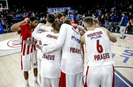 Η κατάταξη της Euroleague μετά την 14 αγωνιστική