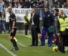 Ο Τσόλο Σιμεόνε στο ντεμπούτο του ως προπονητής της Ατλέτικο στις 7 Ιανουαρίου 2012.