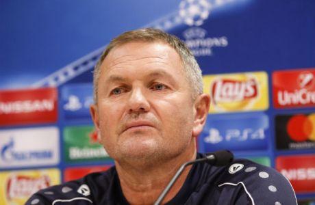 Τυχαία θεωρεί την ήττα από την ΑΕΚ ο προπονητής της Ριέκα!