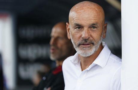 Ο Στέφανο Πιόλι ανανέωσε τη συνεργασία του με την Μίλαν ως το 2022. (Spada/LaPresse via AP)