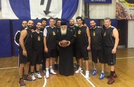 Ο Ιερώνυμος... πάει το μπάσκετ
