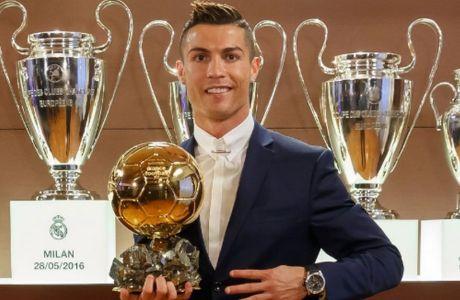 Χρυσομπαλαδόρος ο Ρονάλντο, νικητής για 4η φορά!