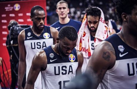Οι παίκτες των Ηνωμένων Πολιτειών έχουν μόλις αποκλειστεί από τη διεκδίκηση των μεταλλίων στο Παγκόσμιο Κύπελλο