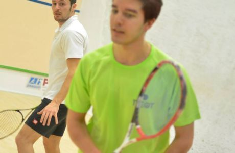 O Harry Londy νικητής στο Greek Squash Finals 2014