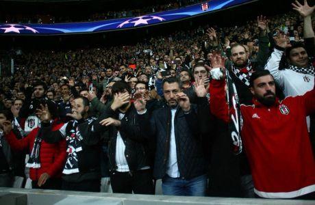 Οι οπαδοί της Μπεσίκτας έγραψαν ιστορία στο Champions League!