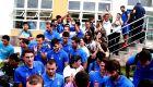 Συγκίνηση και δάκρυα στο αντίο των διεθνών στο Αρακαζού