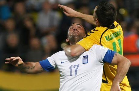 """Γκέκας: """"Δεν πρέπει να το βάλει κάτω ο Αθανασιάδης"""""""