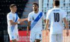 Τζόλης, Παυλίδης και Φορτούνης είχαν εξαιρετικές συνεργασίες στη φιλική αναμέτρηση Ελλάδα - Ονδούρα 2-1 στην Τούμπα | 28/03/2021