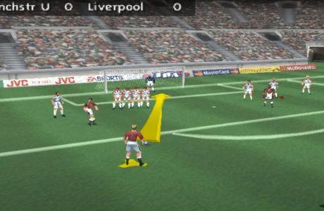 Το καλύτερο χτύπημα φάουλ στην ιστορία του FIFA είχε 'βελάκι'