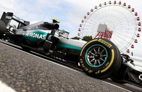GP Ιαπωνίας (FP2): Πάλι Rosberg, πλησιάζουν οι Ferrari