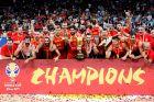 Η Εθνική Ισπανίας, παγκόσμια πρωταθλήτρια στο μπάσκετ.