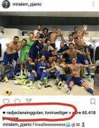 """Το like στη φωτογραφία που """"έκαψε' τρεις παίκτες της Ρόμα!"""