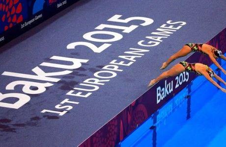 Στην 6η θέση το ντουέτο συγχρονισμένης κολύμβησης
