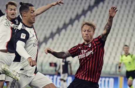Ο Κριστιάνο Ρονάλντο δεν σκόραρε στο πέναλτι που κέρδισε, αλλά η Γιουβέντους προκρίθηκε στον τελικό του Κυπέλλου