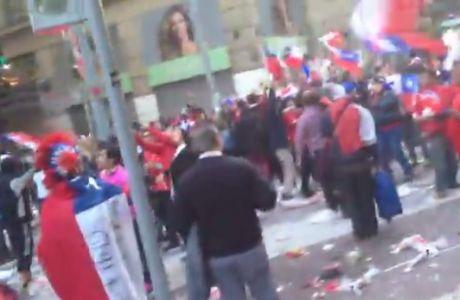 """""""Στις φλόγες"""" η Χιλή (VIDEO)"""