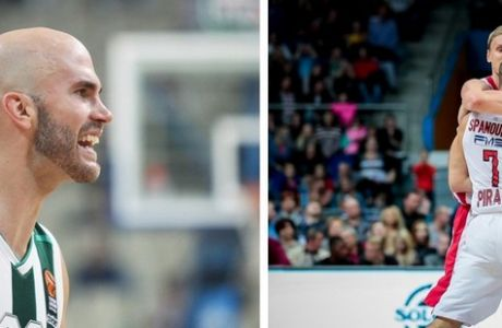 Εβδομάδα Euroleague με εκατοντάδες επιλογές & ειδικά για σκόρερ, ριμπάουντ, ασίστ στο Stoiximan.gr