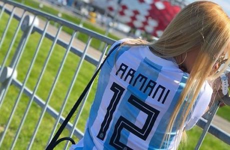 """Ντανιέλα Ρεντόν, η """"καυτή"""" μούσα της Αργεντινής"""